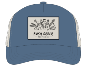 Blue Bush Order Hat